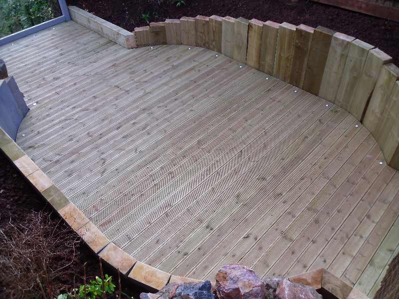 Decking and Balustrading 22
