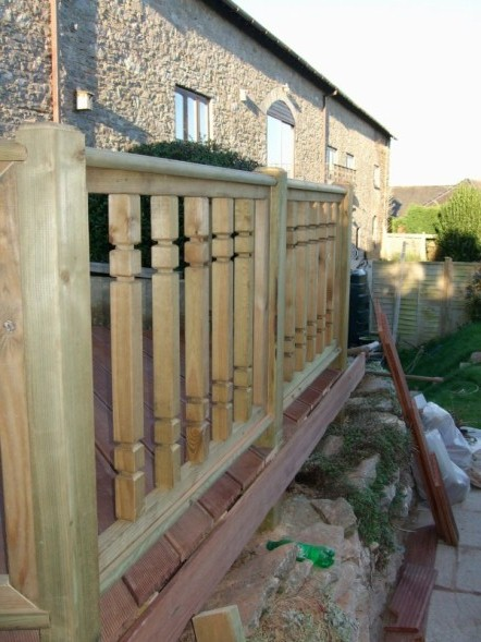 Decking and Balustrading 25